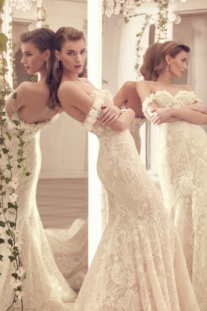 Wedding dress by enzoani