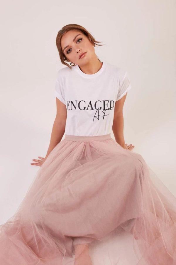engaged t-shirt | MIMI TOKO